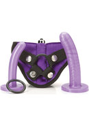 Tantus Bend Over Beginner Harness Kit Silicone Purple