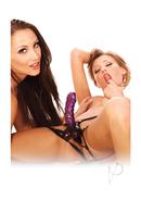 Fetish Fantasy Series Double Delight Strap On Purple 6 Inch