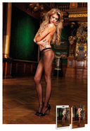 Sheer Pantyhose Black (disc)