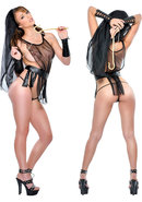 Fetish Fantasy Lingerie Pharoahs Slave Kit Black One Size