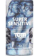 Tom Of Findland One Super Sensitive Premium Latex Condoms...