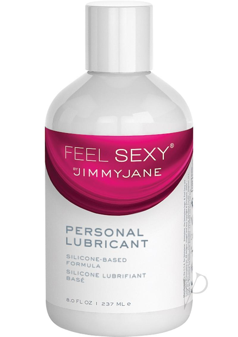 Jimmyjane Feel Sexy Personal Silicone Based Lubricant 8 Ounce