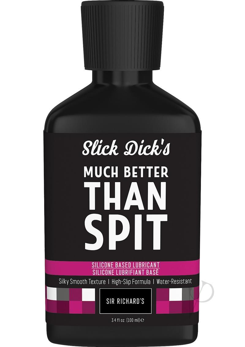 Slick Dick`s Much Better Than Spit Silicone Based Lubricant 3.4 Ounce
